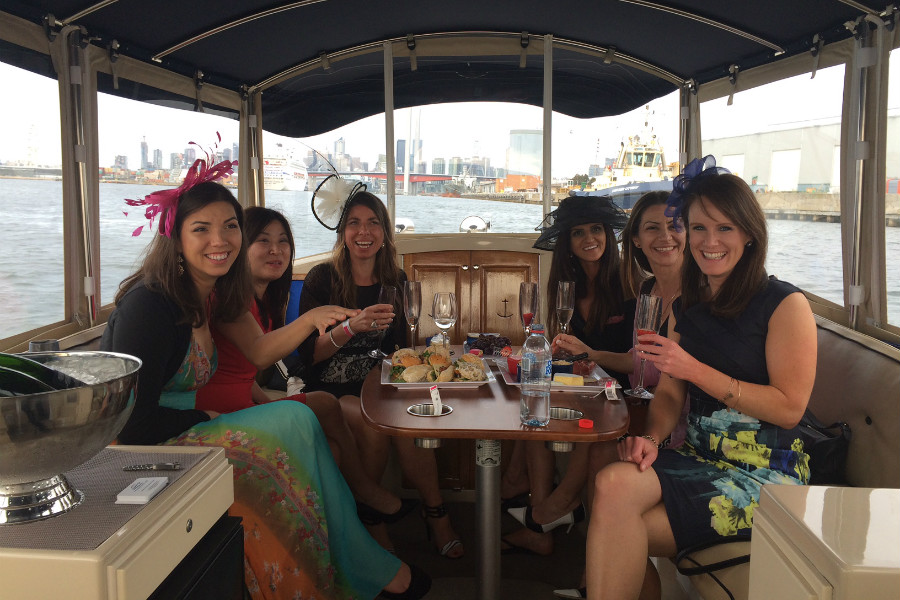 luxury dinners on private yacht docklands melbourne